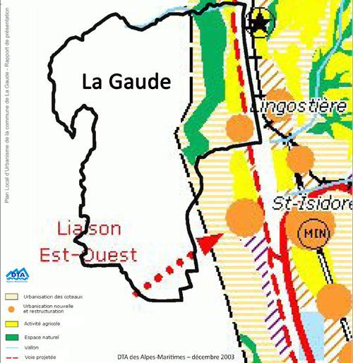 2003-12: carte-DTA : La Gaude - Alpes-Maritimes 06