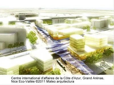 Centre international d'affaires de la Côte d'Azur, Grand Arénas ©2011 Mateo arquitectura