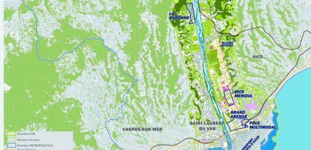 2013-Nice : bienvenue à « Eco-Vallée », la plaine du Var qu'Estrosi bétonne