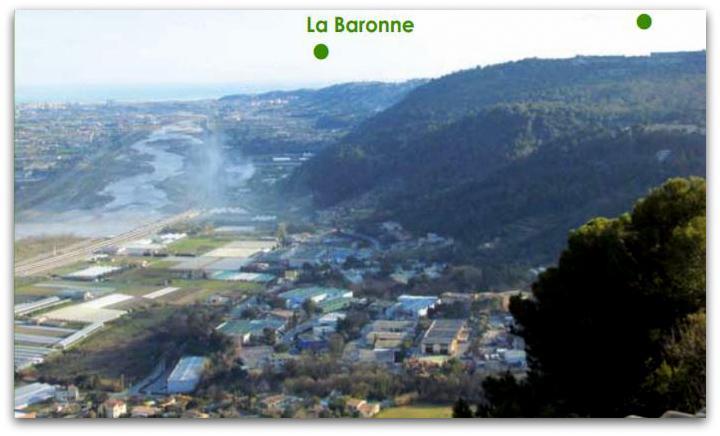La Baronne, La Gaude, 06610, alpes maritimes - 2010 Plaine du Var (1)