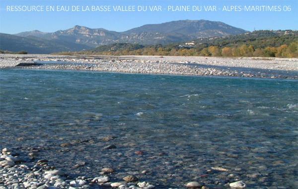 Ressource en eau de la Basse vallée du Var - Plaine du Var - Alpes-Maritimes 06 (v1)