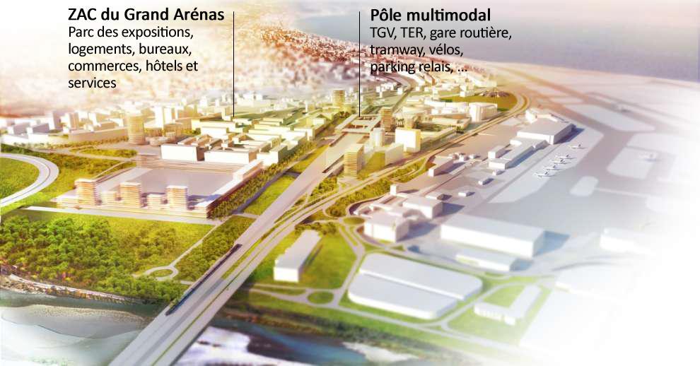 ZAC Grand Arenas + PEM Nice Saint-Augustin / Aéroport - Eco-Vallee